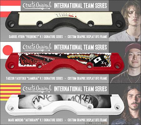 Create originals: International Team Series, Signature Custom Graphic UFS Frames