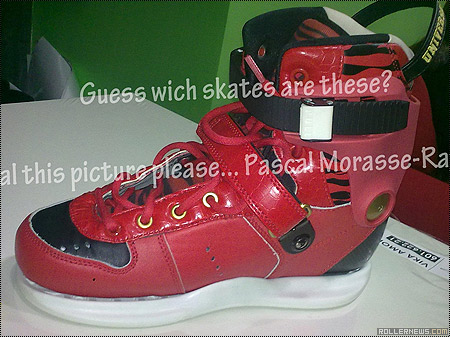 Mysterious Red USD Carbon Skates