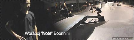 Worapoj Note Boonnim: Bangkok, Night Park Clips