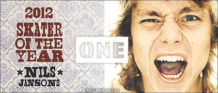 Nils Jansons: One Mag, Skater of the Year 2012