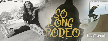 Cody Sanders: So Long, Rodeo by Jay Geurink