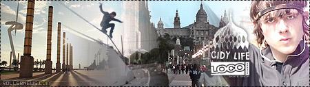 Locoskates + Cidy Life: Holiday Snap (Barcelona)