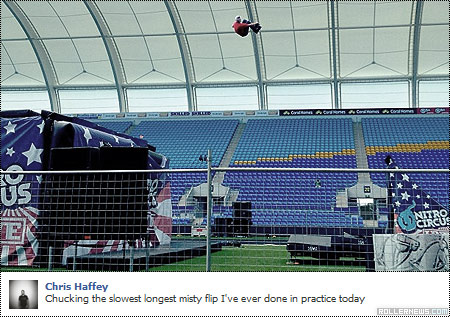 Chris Haffey: Misty Flip