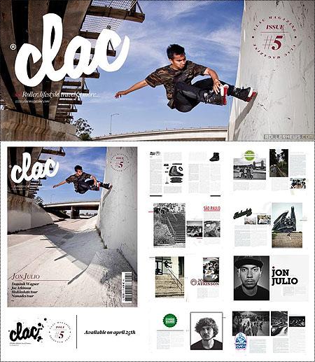 Clac Magazine 5, Cover Boy: Jon Julio