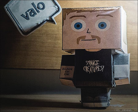 Alex Broskow Paper Toy