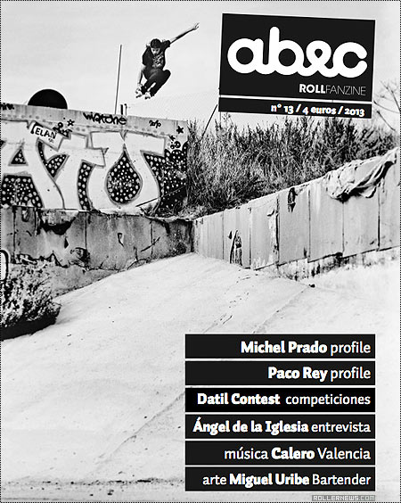 Abec Roll Fanzine (Spain): Issue #13, Cover: Marc Moreno