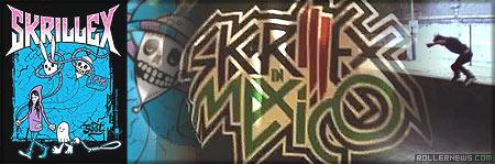 Skrillex in Mexico: Rollerblading Clip