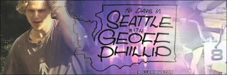 16 days with Geoff Phillip (Seattle)