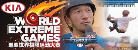 Kia World Extreme Games 2013: Vert Broadcast