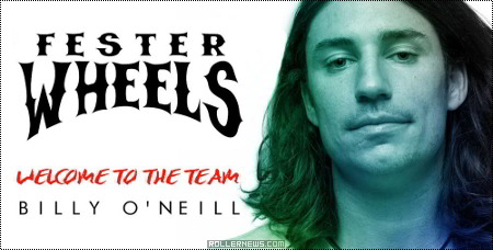 Fester Wheels: Billy O'neill, Welcome to the team