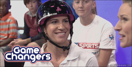 Jenna Downing on Sky Sports Game Changers