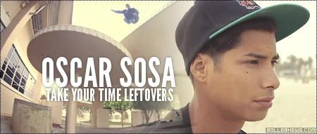 Oscar Sosa: Take Your Time Leftovers