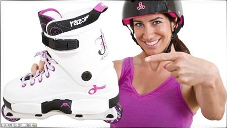 Jenna Downing: Razors Pro SL Skate