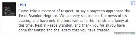 RIP Brandon Negrete