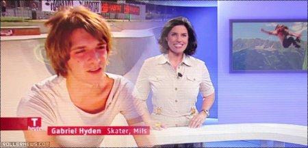 Gabriel Hyden on Austrian TV