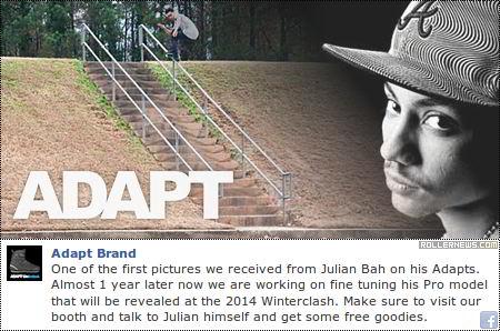 Adapt Julian Bah at the Winterclash 2014