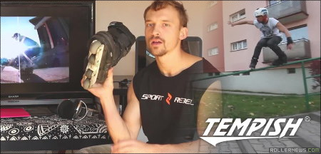 Polish rider Tomasz (Yoghurt) Kwiecien tested the Tempish Extreme II Skates.