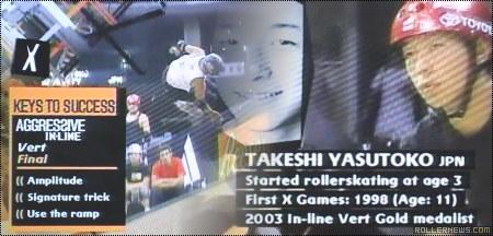 Takeshi Yasutoko: X- GAMES 2003 Run
