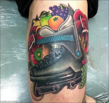 Eric Schrijn: Fruitboot Tattoo
