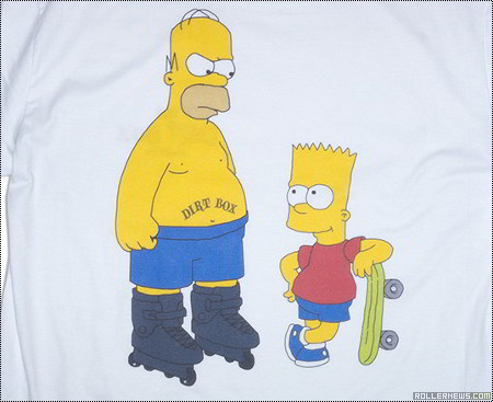 Dirt Box: The Simpsons Tee