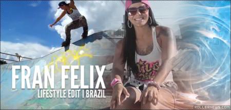 Fran Felix (22, Brazil): Lifestyle Edit by Tomaz Edson