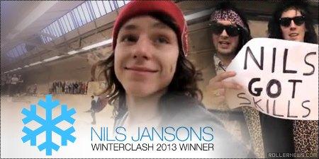 Nils Jansons: Winterclash 2013 Winner, Hedonskate Edit