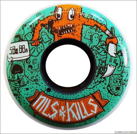 Nils Jansons: Black Hearted Collaboration, Nils Kills 58/88 Pro Wheel