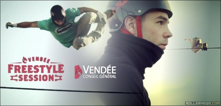 Vendee Freestyle Session 2014 (France): Romain Godenaire, World Record Attempt, Teaser