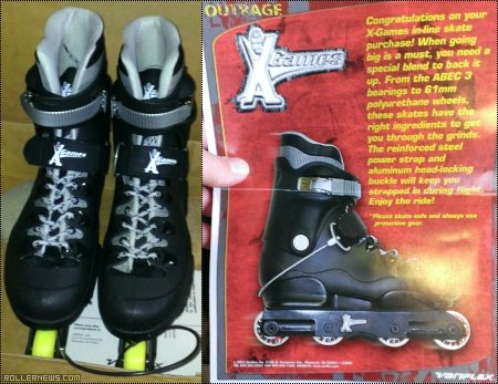 This is an outrage! X-Games Outrage Skates