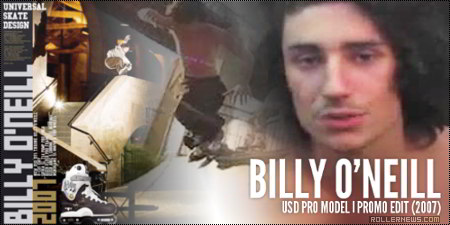 Billy O'Neill USD Promo by Austin Paz (2007)