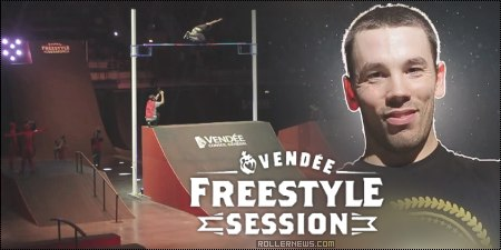 World Record in inlineskating by Romain Godenaire: Vendee Freestyle Session