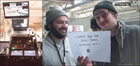 Behind the scenes at Winterclash: Broadcast team, Photo Set