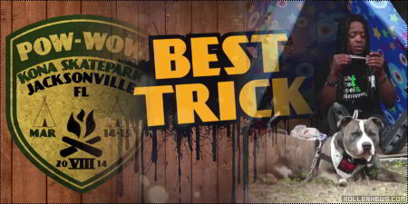 Panhandle Pow-Wow 2014: Best Trick competition