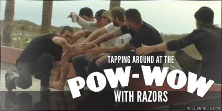 Tapping around at the Pow-wow 2014 with Razors