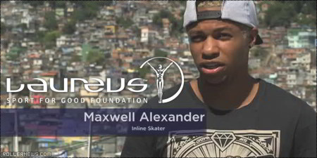 Maxwell Alexandre: Spirit of Sport, Inline Skating in Rocinha (Laureus Documentary)