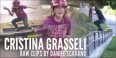 Cristina Grasseli: Raw Clips by Daniel Scarano