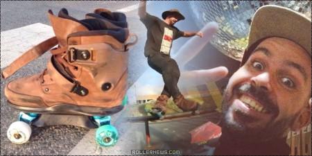 Ricardo Lino: 15 Seconds of Aggressive Quad Skating
