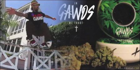 Gawds Cannabis Wheel + Franky Morales Clip