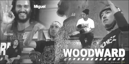 Catching Up 11 at Woodward West with Takeshi Yasutoko, Miguel Ramos, Jon Julio, Richie Velasquez