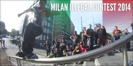 Milan Illegal Contest 2014 (Italy): Edit & Results