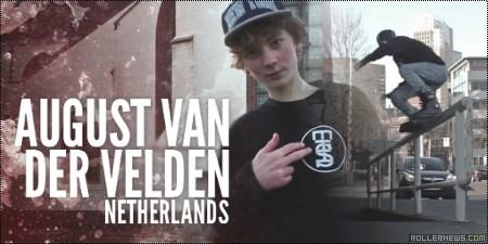 August van der Velden: Razors Netherlands (2014)