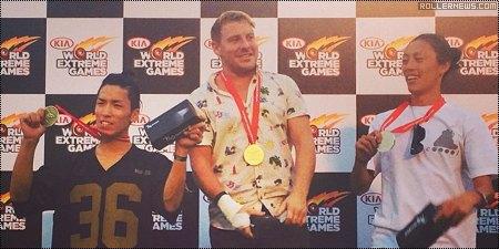 Kia World Extreme Games 2014: Fox TV + Results
