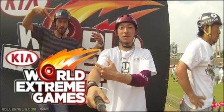Takeshi Yasutoko: Vert Skating @ KIA World Extreme Games 2014