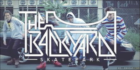 The Backyard Park (Germany) by Czech rollerbladers