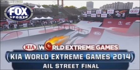 KIA World Extreme Games 2014: Street Final