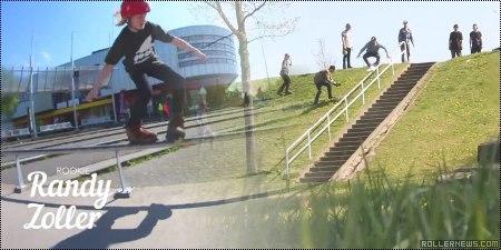 Dutch Rollerblade Rookie Contest