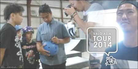 Valo Asia Tour 2014: Japan, Trinity Park Clips