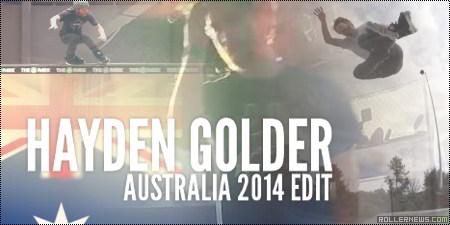 Hayden Golder (Australia): 2014 Edit by Brad Watson