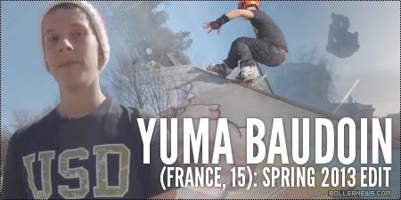 Yuma Baudoin (15, France): Spring 2013, Edit