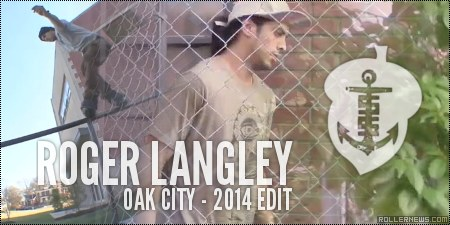 Roger Langley: Oak City, 2014 Edit (North Carolina)